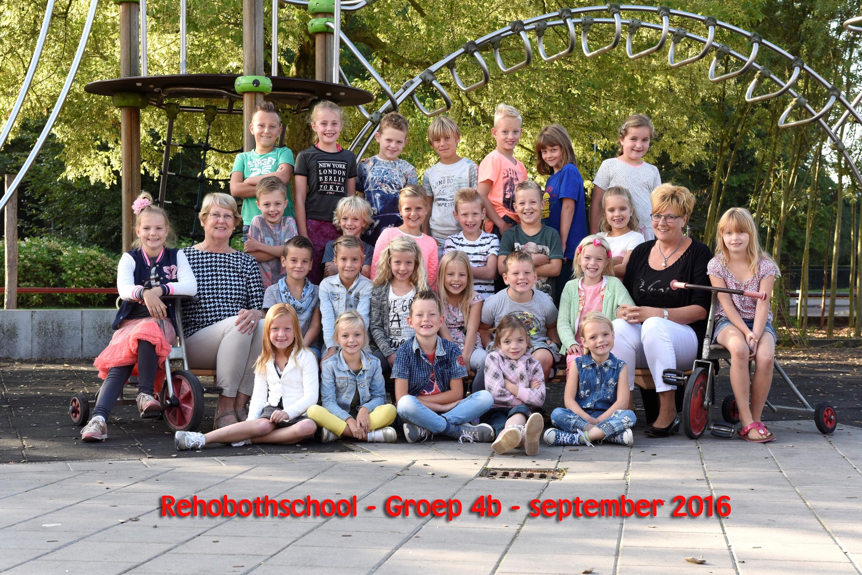 Groep 4 Rehobothschool Nijkerk